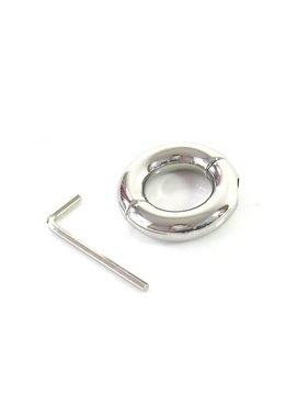 Premium Products Stainless Steel Weighted Ball Stretcher Cock Ring