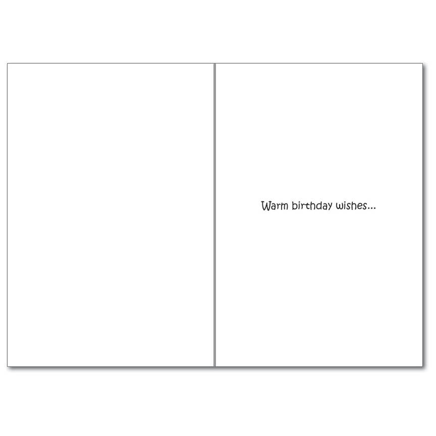 Noble Works Cards (Greeting Card) Water Temp Birthday Card
