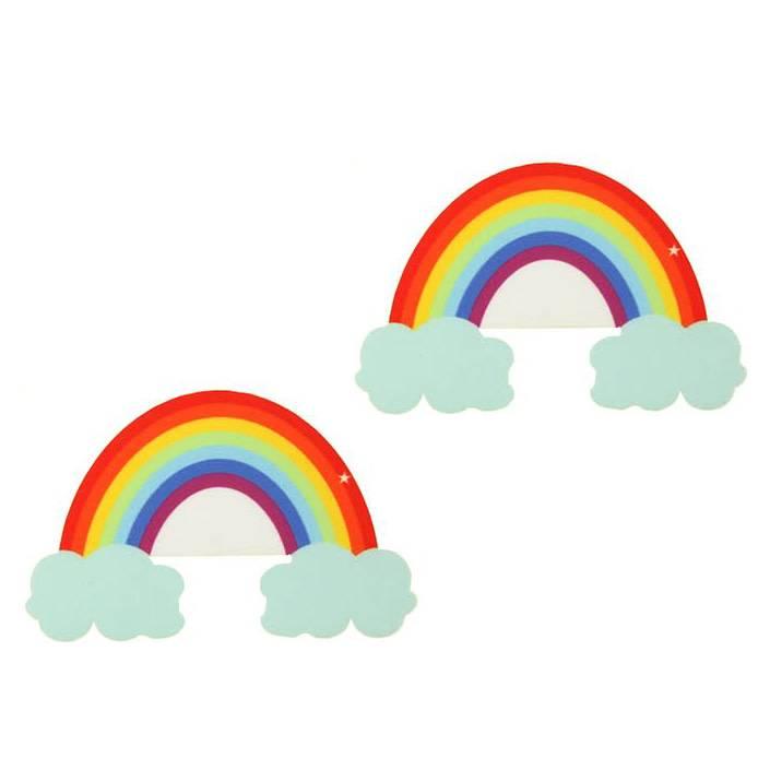 Neva Nude Nipztix Freakin' Awesome Rainbow Pasties