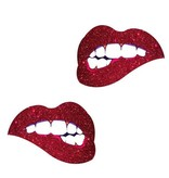 Neva Nude Nipztix Freaking Awesome Bite Me Lips Pasties