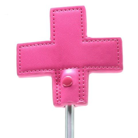 Shots America Toys Ouch! Pink Cross Tipped Crop