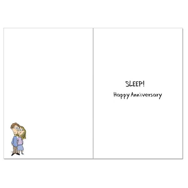 Noble Works Cards (Greeting Card) Send The Kids Out Anniversary Card