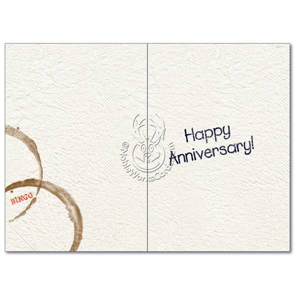 Noble Works Cards (Greeting Card) We Are Here Anniversary Card
