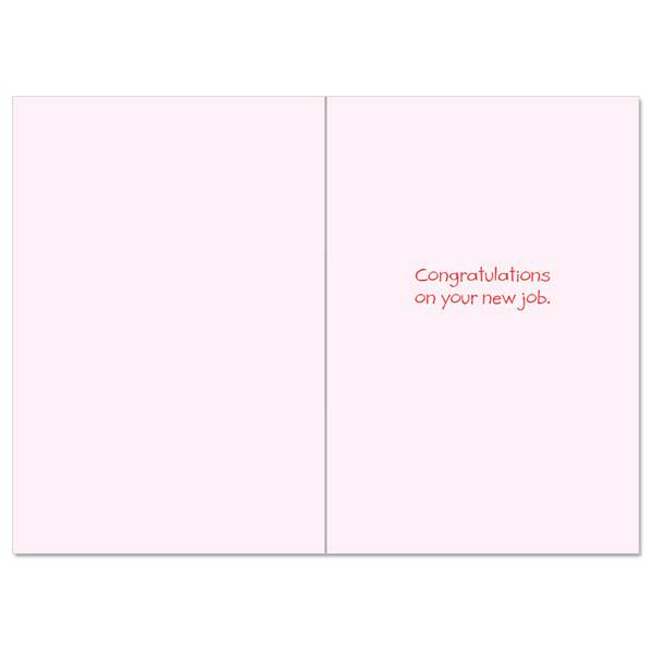 Noble Works Cards (Greeting Card) Fail At Job Congratulations Card