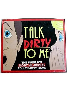 Talk Dirty To Me Adult Party Game
