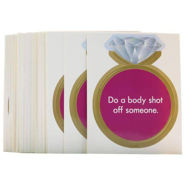 Kheper Games Bride-To-Be Bar Dare Stickers