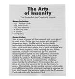 Kheper Games The Arts of Insanity