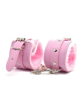 Premium Products Faux Fur Lined PU Cuffs