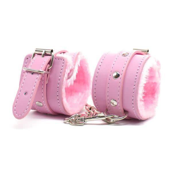 Premium Products Faux Fur Lined PU Cuffs