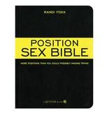 Position Sex Bible Book by Randi Foxx