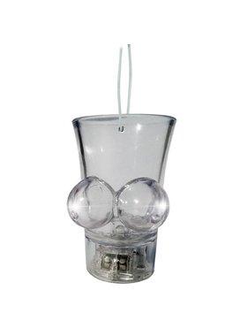 Hott Products Light Up Boobie Shot Glass Hang String