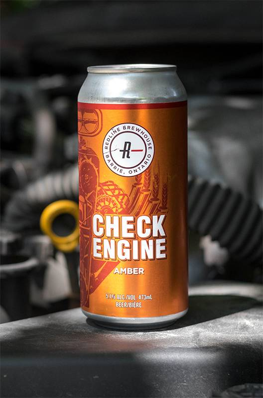 Redline Brewhouse Check Engine 473mL Can