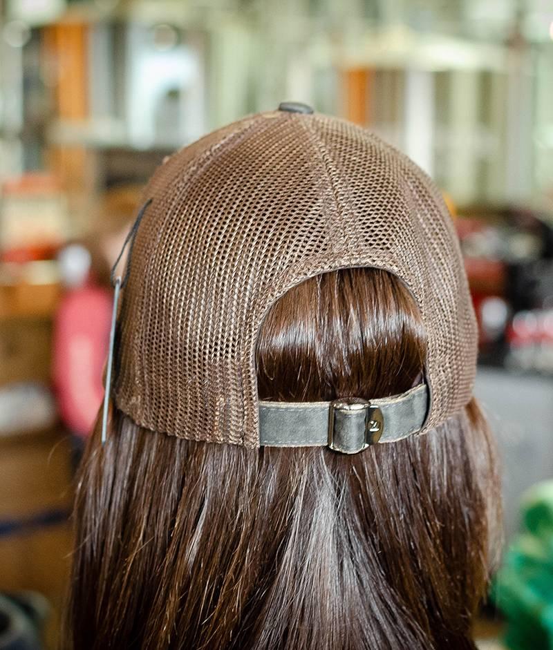 Dryve Designs Vintage, Denim inspired Strap back cap