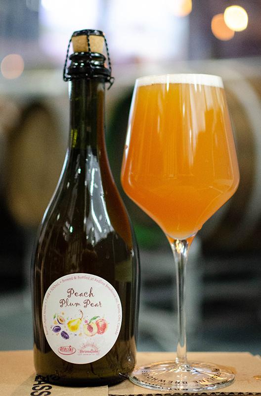 Redline Brewhouse Peach Plum Pear 500mL bottle