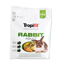Small Animal Tropifit Premium Plus Rabbit - Adult - 750 g
