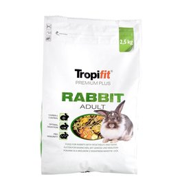 Small Animal (W) Tropifit Premium Plus Rabbit - Adult - 2.5 kg