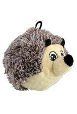 Dog & cat AT EZ Squeaky Plush Toy - Hedgehog - 4""
