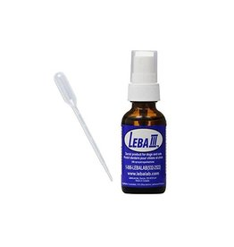 Dog & cat (W) Leba III Dental Spray for Dogs and Cats 1 oz