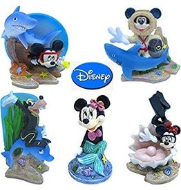 Aquaria (W) Penn Plax Classic Disney Mickey Resin Ornaments