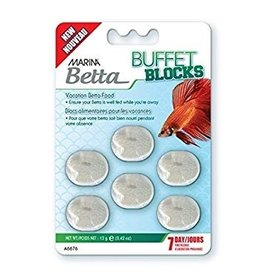 Aquaria (W) Marina Betta Buffet Blocks - 12 g (0.42 oz)