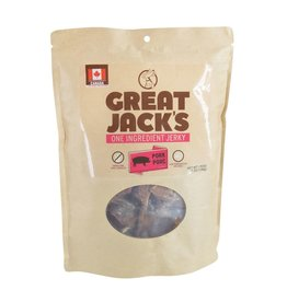 Dog & cat Great Jack's One Ingredient Jerky - Pork - 198 g