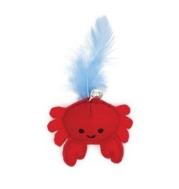 Dog & cat (W) Catit Play Pirates Catnip Toy, Crab