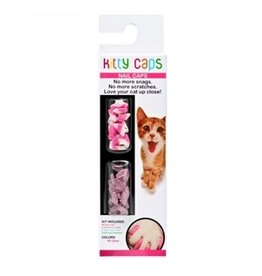 Dog & cat Skaffles Kitty Caps Assorted Colours Nail Applications Size Med