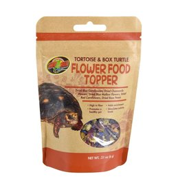 Reptiles (W) Flower Food Topper - Tortoise & Box Turtle - 0.21 oz