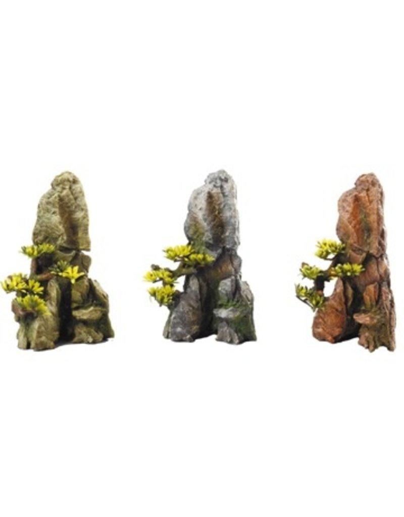Aquaria (W) Aqua Della - Mini Bonsai on Cliff