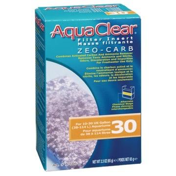 Aquaria (W) AquaClear 30 Zeo-Carb Filter Insert, 65 g (2.3 oz)