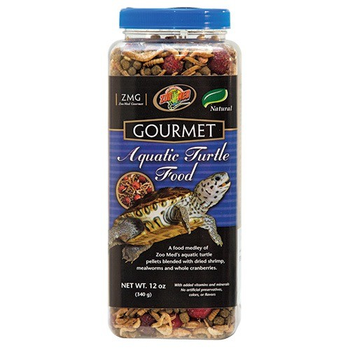 Reptiles (P) Gourmet Aquatic Turtle Food - 12 oz