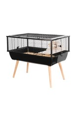 Small Animal Zolux Neo Nigha Cage 78x48x36cm,Blk