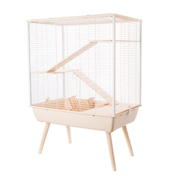 Small Animal Zolux Neo Cosy Cage 78x48x80cm, Bg