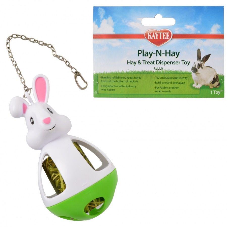 Small Animal Play-N-Hay Toy - Rabbit