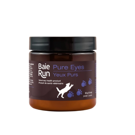 Dog & cat (W) Baie Run Pure Eyes 50g