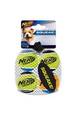 Dog & cat Nerf Dog Squeak Tennis Balls, 4pk, X-Small, 1.75in