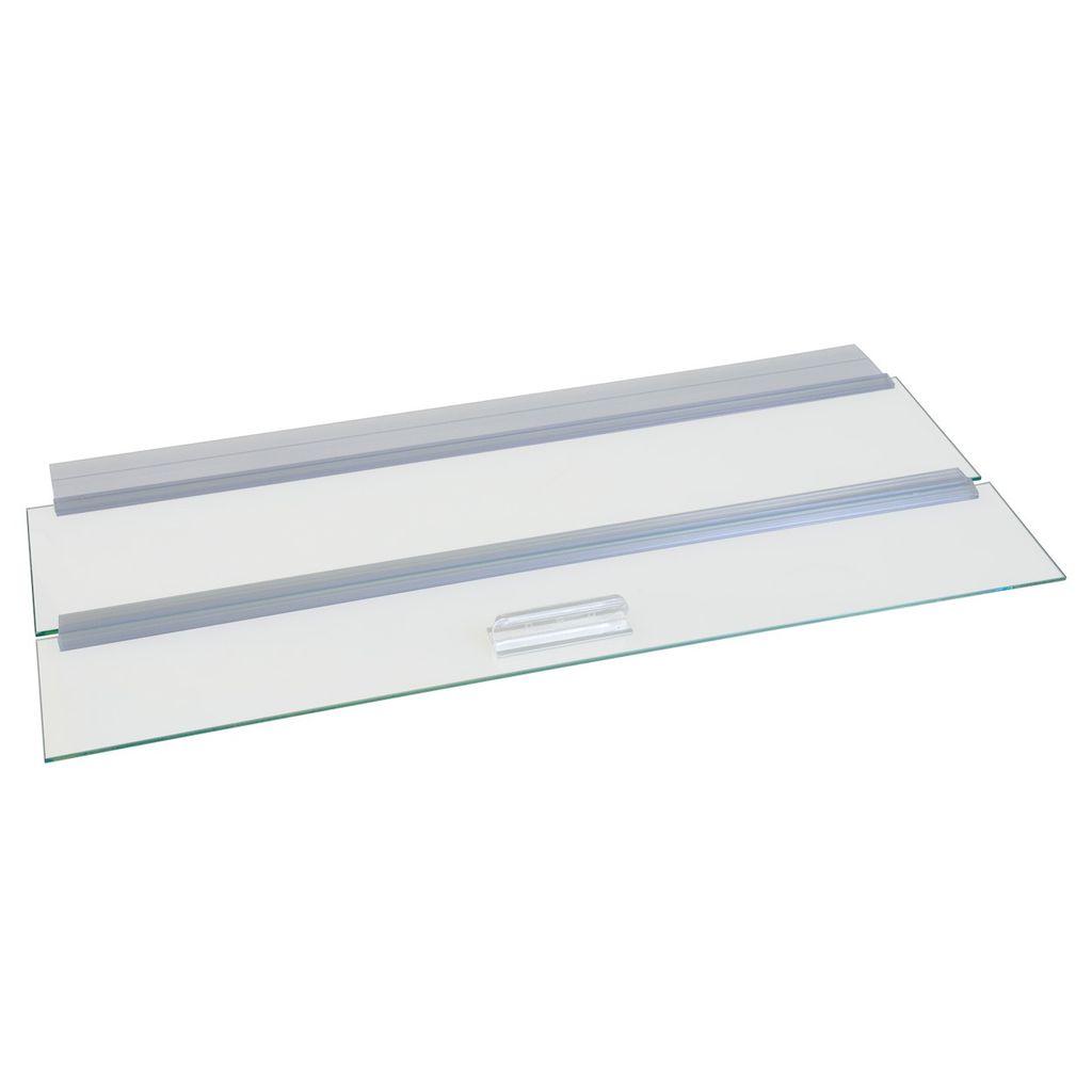 """Aquaria (W) Glass Canopy - 24"""" x 12"""""""