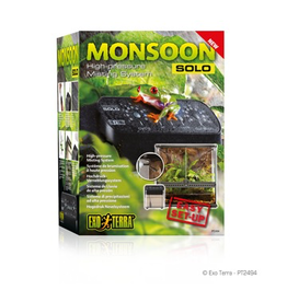 Reptiles (W) Exo Terra Monsoon Solo High Pressure Misting System