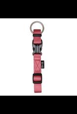 Dog & cat Zeus Adjustable Nylon Dog Collar - Salmon - Medium - 1.5 cm x 28 cm-40 cm (1/2in x 11in-16in)