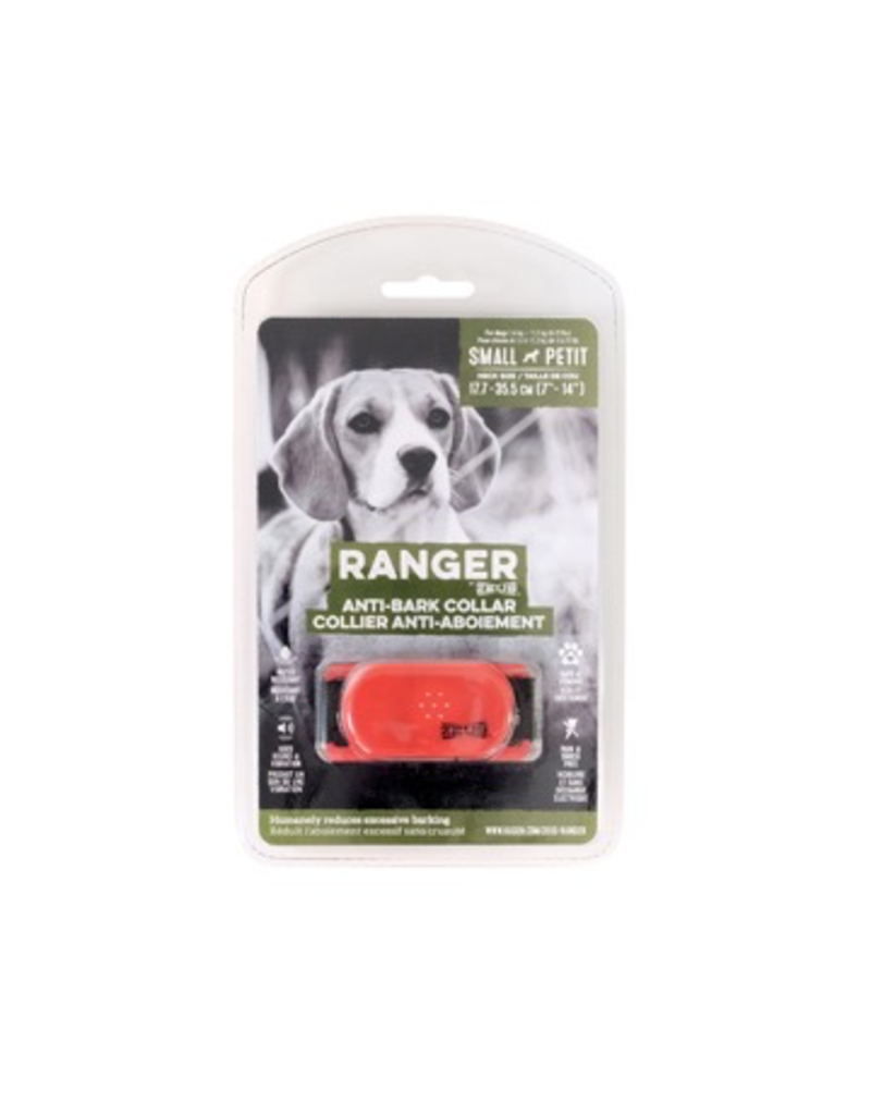 Dog & cat (W) Ranger by Zeus Anti-Bark Collar - Small