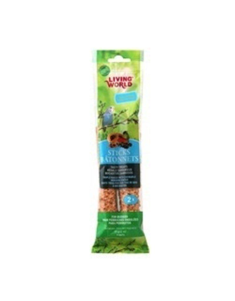 Bird LW Parakeet Fruit Stick, 2-pack 60gr