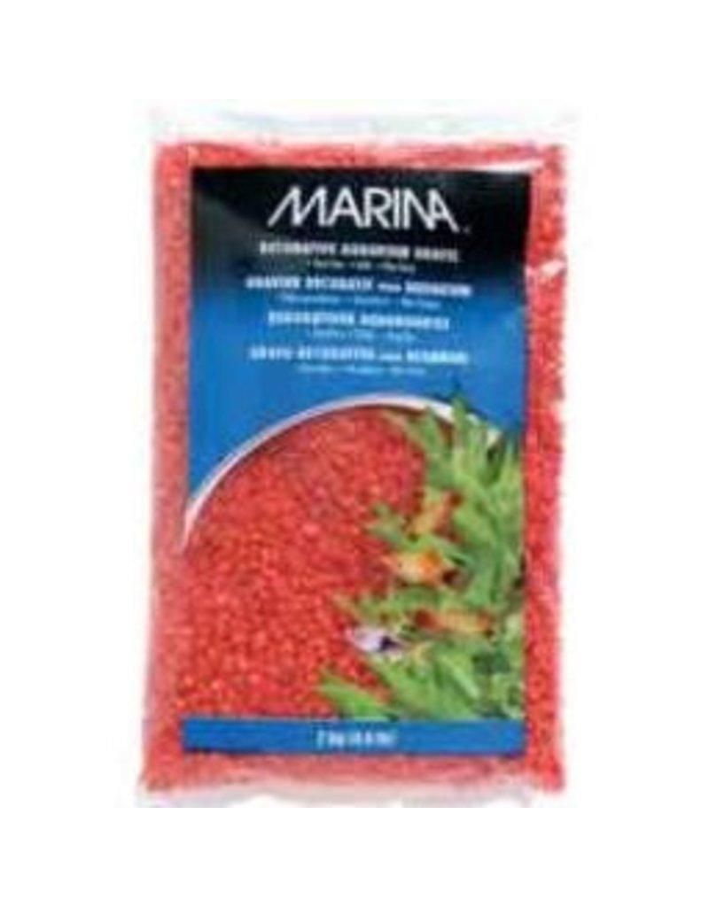 Aquaria Marina Dec.Aqua.Gravel Orange 2kg-V
