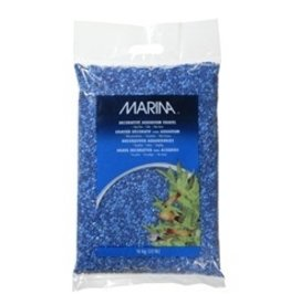 Aquaria (W) MA Dec.Gravel Blue Tone On Tone 10kg-V