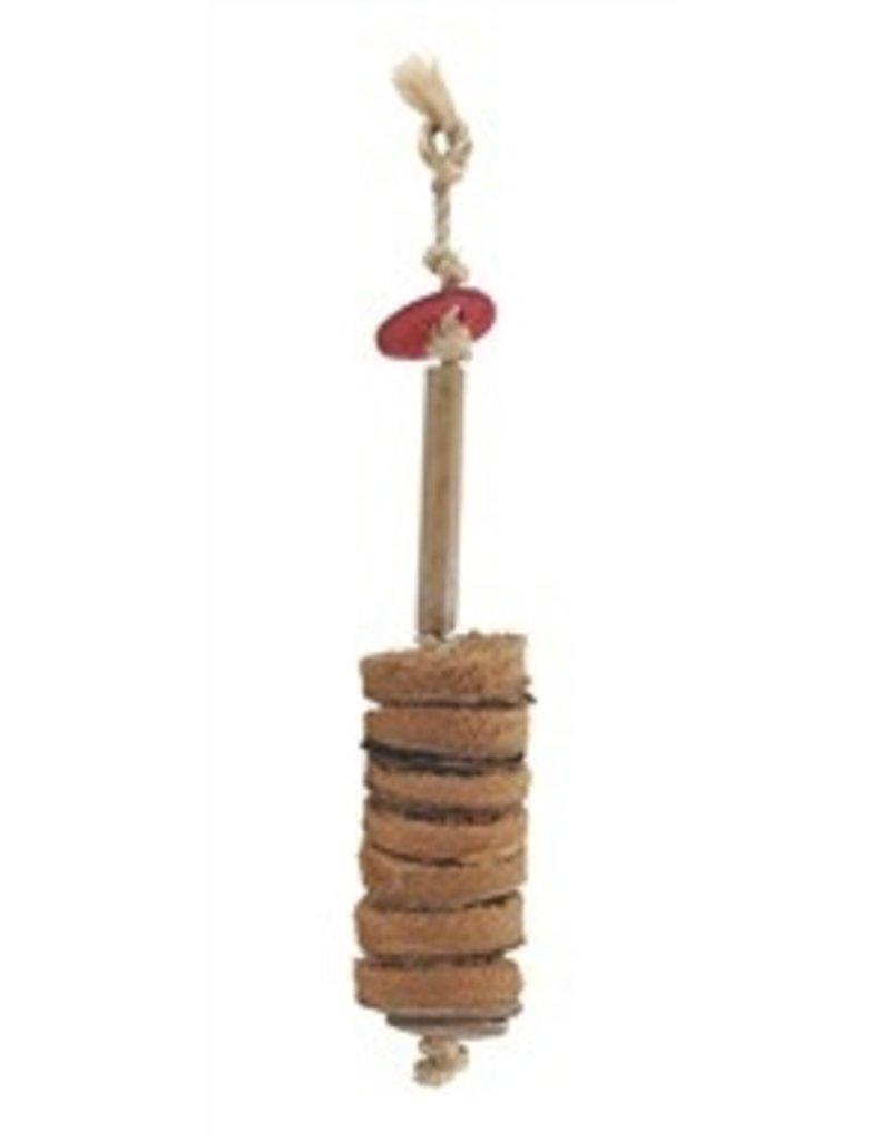 Bird (D) Living World Nature's Treasure Bird Toy Coco Husk Discs For small and medium hookbills