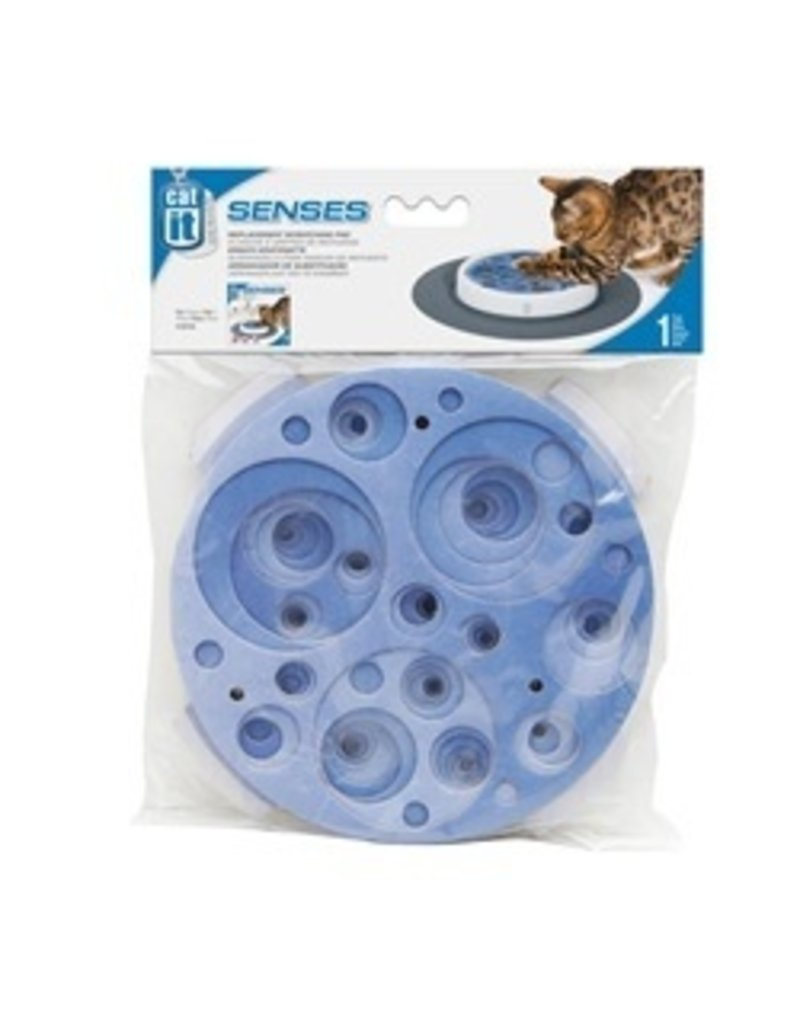 Dog & cat (D) Catit Design Senses Scratch Pad Refill, Blue Swirl