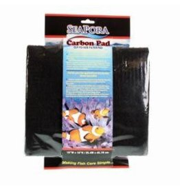 "Aquaria SE CARBON FILTER PAD 18""X10"""