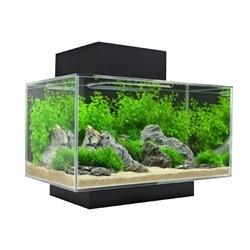 Aquaria (D) FL Edge SET 23L(6 US gal)LED- GlossBlack