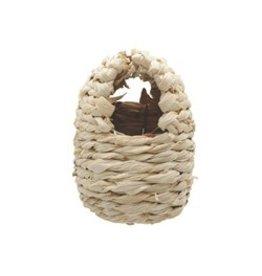 Bird LW Bird Nest, Maize Peel, Small