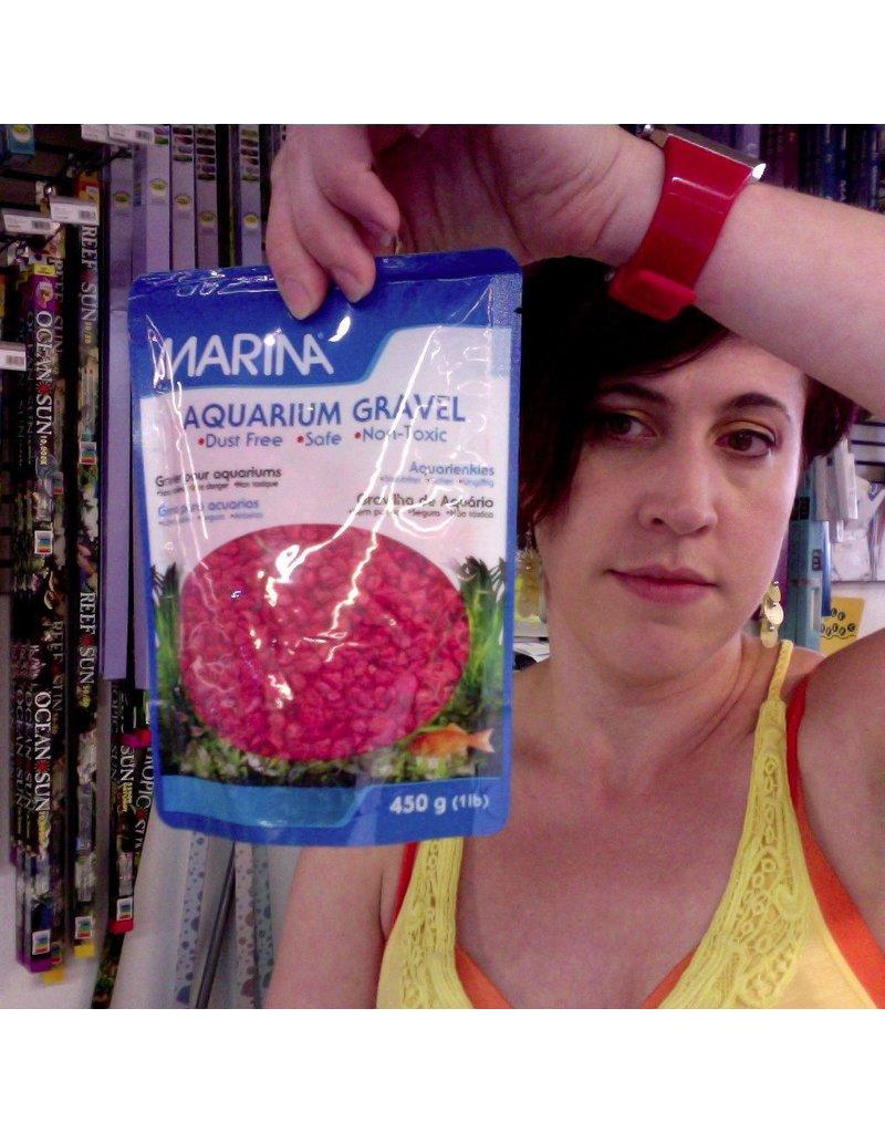 Aquaria MA Dec Aqua Gravel Red 450g