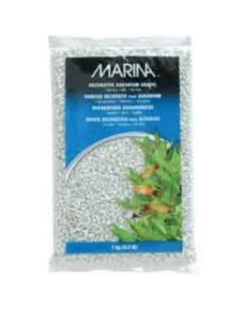 Aquaria (W) Marina Dec.Aqua.Gravel White 10kg-V